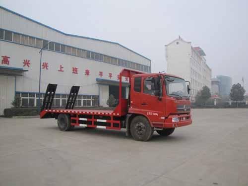 东风天锦平板运输车